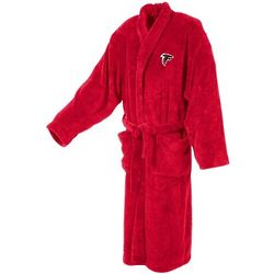 Men's Ultra Plush Red Atlanta Falcons Bathrobe