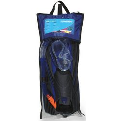 Professional Mask, Snorkel and Fin Set