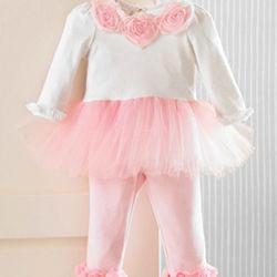 Baby's Pretty Princess Tutu and Leggings
