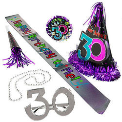 30th Birthday Party Kit