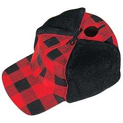 Plaid Hunting Cap Birdhouse