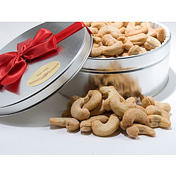 20 Ounce Giant Whole Cashews Gift Tin