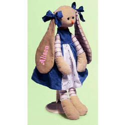 Personalized Large Clara Girl Bunny