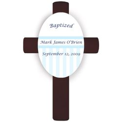 Personalized Children's Baptismal Cross
