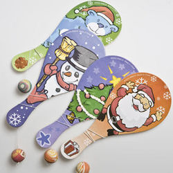 Holiday Paddleball Game