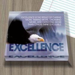 Excellence Eagle Acrylic Paperweight