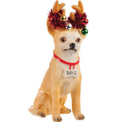 Chihuahua Luv-A-Pet Holiday Ornament