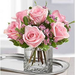 Sweet Sentiments Rose Bouquet