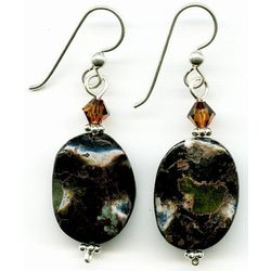 Artisan Kambaba Jasper Earrings