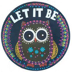 Let It Be Car Magnet
