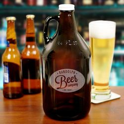 Engraved Beer Company Growler