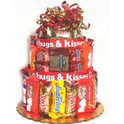 Sweet Treats Candy Bar Cake