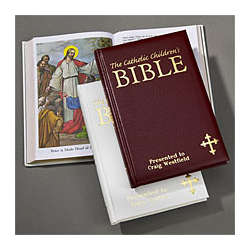 Children's Catholic Bible - Burgundy Cover