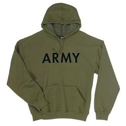 Army PT Hooded Pullover OD Sweatshirt