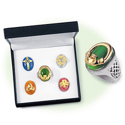 Celtic Changeable Ring Boxed Set