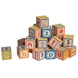 Lowercase Alphabet Blocks