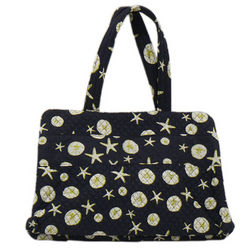 Beach Print Shoulder Bag