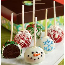 Holiday Truffle Cake Pops