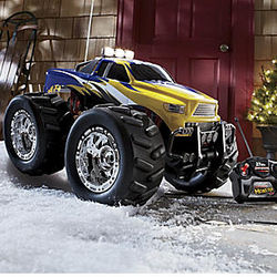 Radio Controlled Monster Wheel Truck