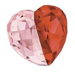 Medium Swarovski Crystal Love Heart