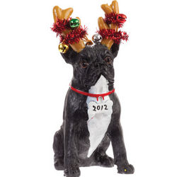 French Bulldog Luv-A-Pet Holiday Ornament