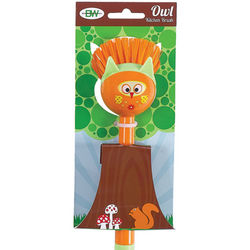 Owl Kitchen Brush