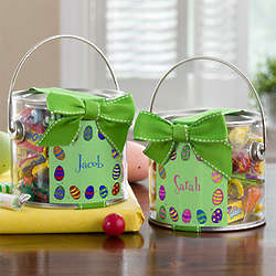 Personalized Easter Candy Can for Kids