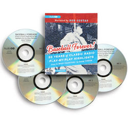 Baseball Forever!: 50 Years of Radio Play-by-Play Highlights CDs