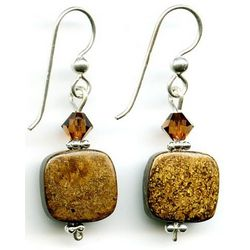 Artisan Bronzonite Earrings