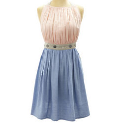 Pink Dreamy Vintage-Inspired Small-Medium Apron