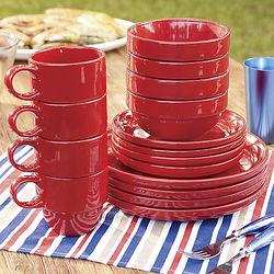16-Piece Stax Dinnerware Set