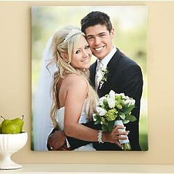 "Personalized 11"" x 14"" Photo Canvas"