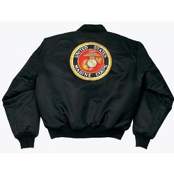 USMC Logo MA-1 Flight Jacket