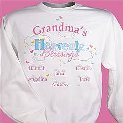 Heavenly Blessings Any Name Personalized Sweatshirt