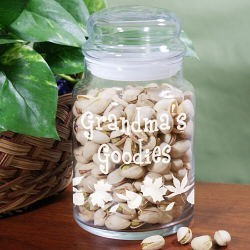 Personalized Grandma's Goodies Jar