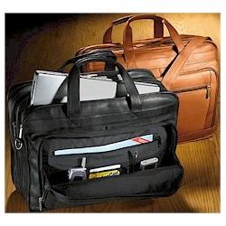 Large Expandable Laptop Briefcase