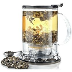 Perfect Teamaker with Bottom Strainer
