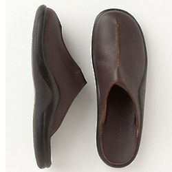 Men's Leather Melhorado Indoor/Outdoor Clogs