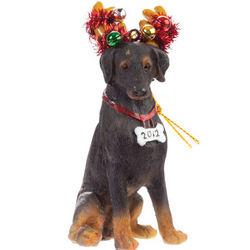 Doberman Luv-A-Pet Holiday Ornament