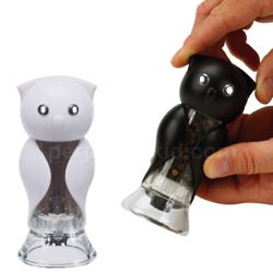 Owl Salt and Pepper Grinders