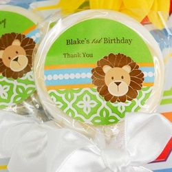 Birthday Themed Personalized Lollipops