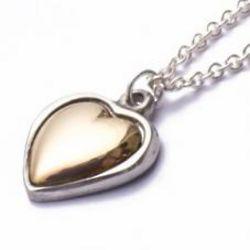7th Anniversary Copper Heart Pendant