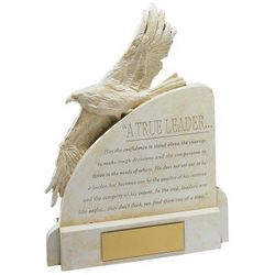 Personalized True Leader Eagle Award