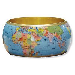 World Map Bangle
