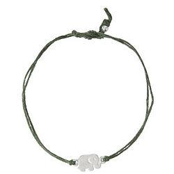 Dogeared Good Luck Linen Bracelet