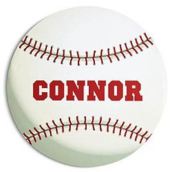 Personalized Baseball Sport Ball Doormat
