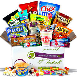 Post-College Snacks Survival Kit Gift Box