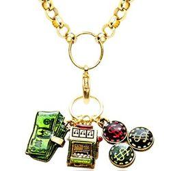 Casino Charm Necklace