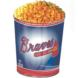 Atlanta Braves 3 Way Popcorn Gift Tin