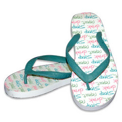 Sleep Drink Repeat Women's Flip-Flops